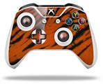 Tie Dye Bengal Side Stripes - Decal Style Skin fits Microsoft XBOX One X and One S Wireless Controller