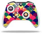 Brushed Cirlces Multi Dark - Decal Style Skin fits Microsoft XBOX One X and One S Wireless Controller