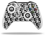Skull Checker - Decal Style Skin fits Microsoft XBOX One X and One S Wireless Controller