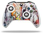 Abstract Graffiti - Decal Style Skin fits Microsoft XBOX One X and One S Wireless Controller