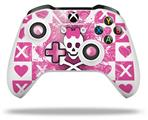 Princess Skull - Decal Style Skin fits Microsoft XBOX One X and One S Wireless Controller