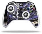 Gyro Lattice - Decal Style Skin fits Microsoft XBOX One X and One S Wireless Controller