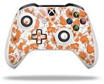 Flowers Pattern 14 - Decal Style Skin fits Microsoft XBOX One X and One S Wireless Controller