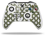Locknodes 01 Sage Green - Decal Style Skin fits Microsoft XBOX One X and One S Wireless Controller