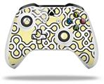 Locknodes 03 Yellow Sunshine - Decal Style Skin fits Microsoft XBOX One X and One S Wireless Controller