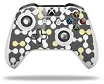 Locknodes 04 Yellow Sunshine - Decal Style Skin fits Microsoft XBOX One X and One S Wireless Controller