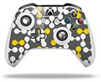 Locknodes 04 Yellow - Decal Style Skin fits Microsoft XBOX One X and One S Wireless Controller