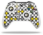 Locknodes 05 Yellow - Decal Style Skin fits Microsoft XBOX One X and One S Wireless Controller