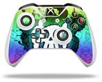 Cartoon Skull Rainbow - Decal Style Skin fits Microsoft XBOX One X and One S Wireless Controller