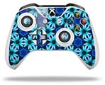 Daisies Blue - Decal Style Skin fits Microsoft XBOX One X and One S Wireless Controller