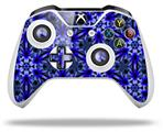 Daisy Blue - Decal Style Skin fits Microsoft XBOX One X and One S Wireless Controller