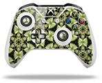 Leave Pattern 1 Green - Decal Style Skin fits Microsoft XBOX One X and One S Wireless Controller