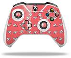 Paper Planes Coral - Decal Style Skin fits Microsoft XBOX One X and One S Wireless Controller