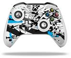 Baja 0018 Blue Medium - Decal Style Skin fits Microsoft XBOX One X and One S Wireless Controller