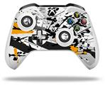 Baja 0018 Orange - Decal Style Skin fits Microsoft XBOX One X and One S Wireless Controller