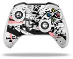 Baja 0018 Pink - Decal Style Skin fits Microsoft XBOX One X and One S Wireless Controller