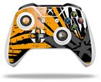 Baja 0040 Orange - Decal Style Skin fits Microsoft XBOX One X and One S Wireless Controller