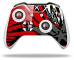 Baja 0040 Red - Decal Style Skin fits Microsoft XBOX One X and One S Wireless Controller