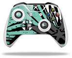 Baja 0040 Seafoam Green - Decal Style Skin fits Microsoft XBOX One X and One S Wireless Controller