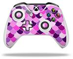Scales Pink Purple - Decal Style Skin fits Microsoft XBOX One X and One S Wireless Controller