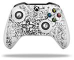 Folder Doodles White - Decal Style Skin fits Microsoft XBOX One X and One S Wireless Controller