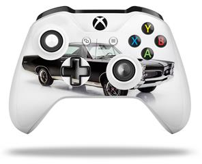1967 Black Pontiac GTO 3786 - Decal Style Skin fits Microsoft XBOX One X and One S Wireless Controller