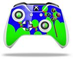 Drip Blue Green Red - Decal Style Skin fits Microsoft XBOX One X and One S Wireless Controller