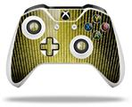 Binary Rain Yellow - Decal Style Skin fits Microsoft XBOX One X and One S Wireless Controller