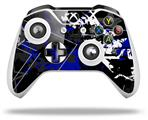 Baja 0003 Royal Blue - Decal Style Skin fits Microsoft XBOX One X and One S Wireless Controller