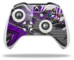 Baja 0032 Purple - Decal Style Skin fits Microsoft XBOX One X and One S Wireless Controller