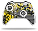Baja 0032 Yellow - Decal Style Skin fits Microsoft XBOX One X and One S Wireless Controller