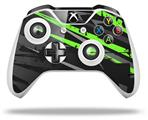 Baja 0014 Neon Green - Decal Style Skin fits Microsoft XBOX One X and One S Wireless Controller