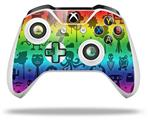 Cute Rainbow Monsters - Decal Style Skin fits Microsoft XBOX One X and One S Wireless Controller