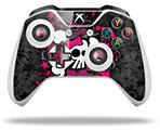 Girly Skull Bones - Decal Style Skin fits Microsoft XBOX One X and One S Wireless Controller