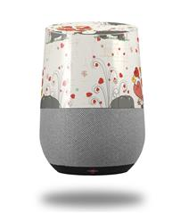 Decal Style Skin Wrap for Google Home Original - Elephant Love (GOOGLE HOME NOT INCLUDED)