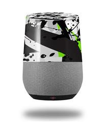 Decal Style Skin Wrap for Google Home Original - Baja 0018 Lime Green (GOOGLE HOME NOT INCLUDED) by WraptorSkinz