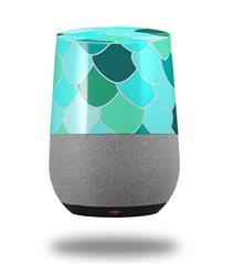 Decal Style Skin Wrap for Google Home Original - Scales Blue Green (GOOGLE HOME NOT INCLUDED) by WraptorSkinz
