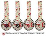 WraptorSkinz Skin Decal Wrap for Beats Solo 2 and Solo 3 Wireless headphones Lots of Santas (BEATS NOT INCLUDED)
