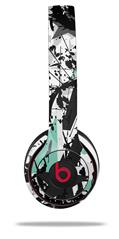 Skin Decal Wrap for Beats Solo 2 and Solo 3 Wireless Headphones Baja 0018 Seafoam Green (BEATS NOT INCLUDED)