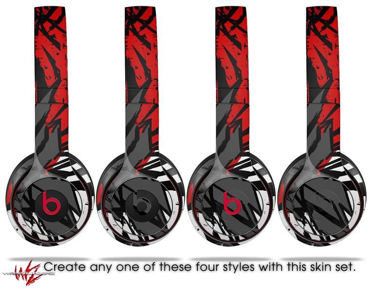 Beats Solo 2 - Solo 3 Wireless Skins Baja 0040 Red   uSkins