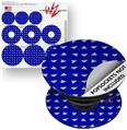 Decal Style Vinyl Skin Wrap 3 Pack for PopSockets Paper Planes Royal Blue (POPSOCKET NOT INCLUDED)