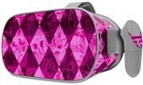 Decal style Skin Wrap compatible with Oculus Go Headset - Pink Diamond (OCULUS NOT INCLUDED)