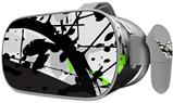 Decal style Skin Wrap compatible with Oculus Go Headset - Baja 0018 Lime Green (OCULUS NOT INCLUDED)