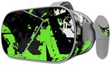 Decal style Skin Wrap compatible with Oculus Go Headset - Baja 0003 Neon Green (OCULUS NOT INCLUDED)