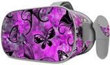 Decal style Skin Wrap compatible with Oculus Go Headset - Butterfly Graffiti (OCULUS NOT INCLUDED)
