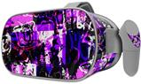 Decal style Skin Wrap compatible with Oculus Go Headset - Purple Graffiti (OCULUS NOT INCLUDED)