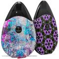 Skin Decal Wrap 2 Pack compatible with Suorin Drop Graffiti Splatter VAPE NOT INCLUDED
