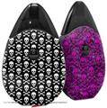 Skin Decal Wrap 2 Pack compatible with Suorin Drop Skull and Crossbones Pattern VAPE NOT INCLUDED