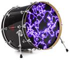 "Vinyl Decal Skin Wrap for 22"" Bass Kick Drum Head Electrify Purple - DRUM HEAD NOT INCLUDED"