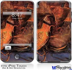 iPod Touch 2G & 3G Skin - Vincent Van Gogh A Pair of Shoes